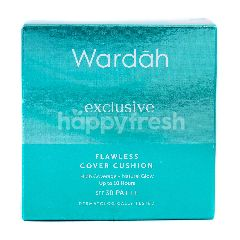 Wardah Exclusive Flawless Cover Cushion 02 Honey Beige