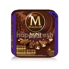 Wall's Magnum Mini Classic Almond Brownie Ice Cream (6 Pieces)