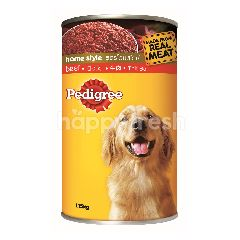Pedigree Can Dog Wet Food Adult Beef 1.15KG Dog Food