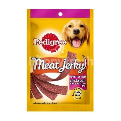 Pedigree Adult Dog Treats Meat Jerky Ham & Cheese 80G Dog Snack