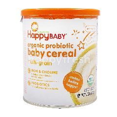 Organics Happy Baby Organic Probiotic Baby Cereal Multi-Grain