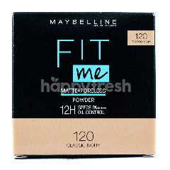 Maybelline Fit Me Matte + Poreless Compact Powder 28 PA+++ - 120 Classic Ivo