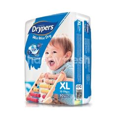 Drypers Wee Wee Dry Mega Pack Diapers XL50