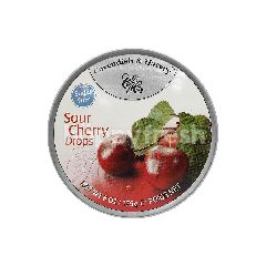 Cavendish & Harvey Sugar Free Sour Cherry Drops Candy