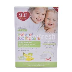 Splat Baby Natural Toothpaste Apple-Banana