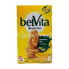Belvita Banana & Oat Flavoure Biscuits (8 Packets x 20g)