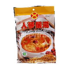 Honann Ginseng Soup With Spices Mix