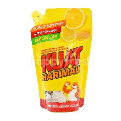 Kuat Harimau Dishwashing Liquid With Lemon Zap