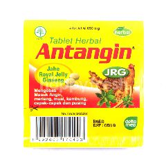 Antangin JRG Tablet Herbal Jahe Royal Jelly Ginseng