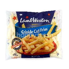 Lamb Weston Crinkle Cut Fries Grade A