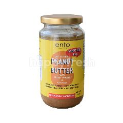 Ento High Protein Peanut Butter With Chia Seeds (All Natural - No Salt, No Sugar, No Preservatives, No Added Oil) 380g