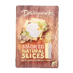 Dairyworks Smoked Natural Slices Cheese Slices