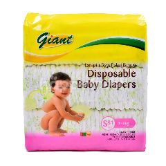 Giant Disposable Baby Diapers (Size S)