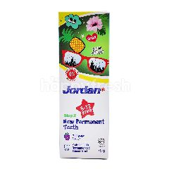 Jordan Step 2 New Permanent Teeth Toothpaste (6-12 Years)