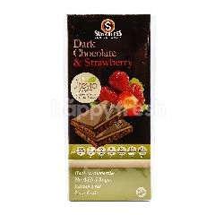 Sugarless Confectionery Dark Chocolate & Strawberry