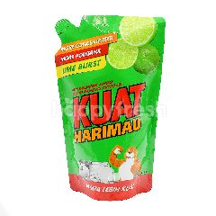 Kuat Harimau Dishwashing Liquid With Lime Burst