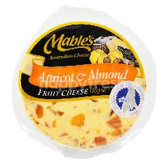 MABLE'S Apricot & Almond Fruit Cheese