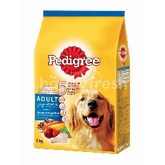 Pedigree Dog Dry Food Adult Chicken & Vegetable Flavour 3KG Dog Food