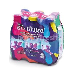 Spritzer So Tinge! Carbonated Grape Flavoured Drink (6x325ML)