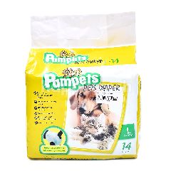PAMPETS Large Sized Pets Diaper (14 Pieces)