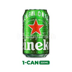 Heineken Lager Beer Can 320ml