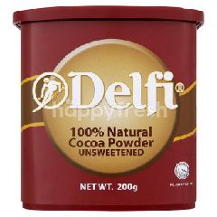 Delfi 100% Natural Cocoa Powder Unsweetened 200G