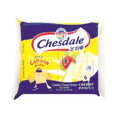 Chesdale Cheese Cheddar Slices Spread (6 Slices)