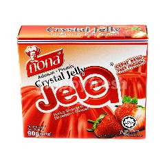 NONA Jelea Crystal Jelly Strawberry Flavour