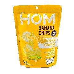 HOM Banana Chips Corn Cheese Flavour