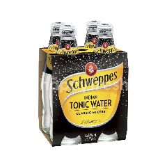 Schweppes Mixers Tonic Water (300ml x 4)