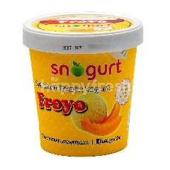 Snogurt Premium Frozen Yogurt Melon