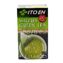 Ito En Traditional Matcha Green Tea (20 Teabags x 1.5g)