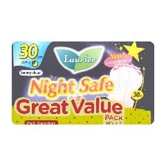 Laurier Night Safe Pad 30cm (2 Packets)