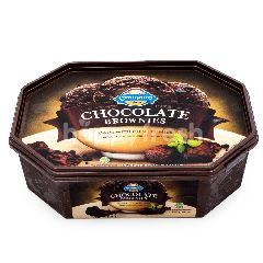 Campina Es Krim Chocolate Brownies