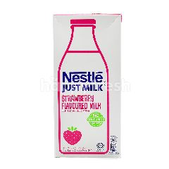 Just Milk Strawberry Flavoured Milk 1L