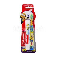 Colgate Minions Toothbrush And Toothpaste Set