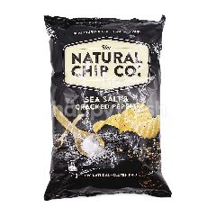 The Natural Chip Co. Sea Salt & Cracked Pepper Flavoured Potato Chips