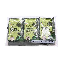 CJ Bibigo Crispy Seaweed Wasabi Snacks (3 Pieces)