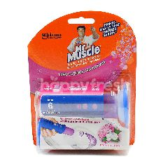 Mr Muscle Fresh Discs Starter Toilet Bowl Cleaning Discs (Fresh Floral)
