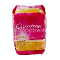 Carefree Ultra Thin Unscented Liners