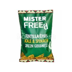 Mister Freed Tortila Chips With Kale And Spinach