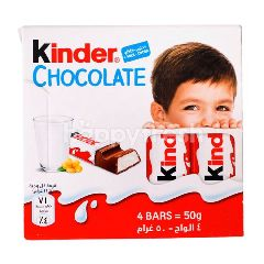 Kinder Chocolate Milk With A Rich Milky Filling 50G