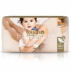Drypers Diapers Touch Jumbo L34