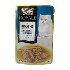 Purina Fancy Feast Royale Broths Tuna, Surimi & Whitebait