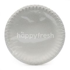 TOPVALU Disposable Paper Plates 7 Inch