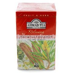 Ahmad Tea London Relaxing Rooibos & Cinnamon Tea