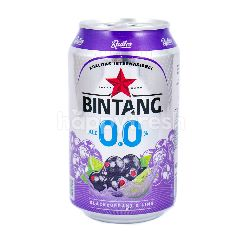 Bintang 0.0% Alc Blackcurrant & Lime