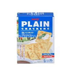 Meiji Plain Crackers (4 Packs)
