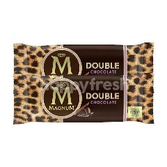 Wall's Magnum Double Chocolate Ice Cream Twinpack