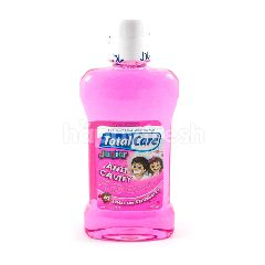 Total Care Junior Anti Lubang Permen Karet Stroberi 250ml